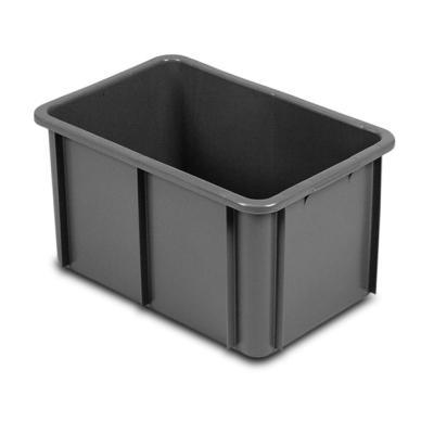 norah plastics kunststoff stapelbeh lter runden ecken hdpe kunststoffbeh lter 600 x 400 mm. Black Bedroom Furniture Sets. Home Design Ideas